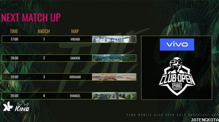 Update Jadwal PUBG Mobile Open Club (PMCO) Fall Split SEA League 2019 Day 3, Live Streaming Youtube